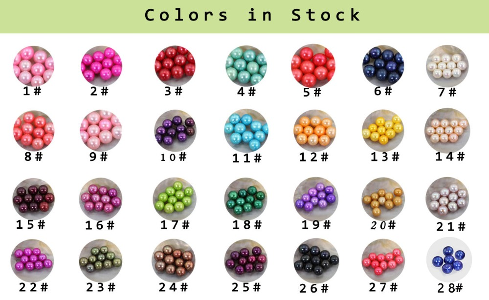 Bulk 20pcs 6-7mm AAA Pearl Freshwater Cultured Love Wish Pearl Oyster Mussel Mixed Colors Natural Real Pearls Akoya Oyster FP268