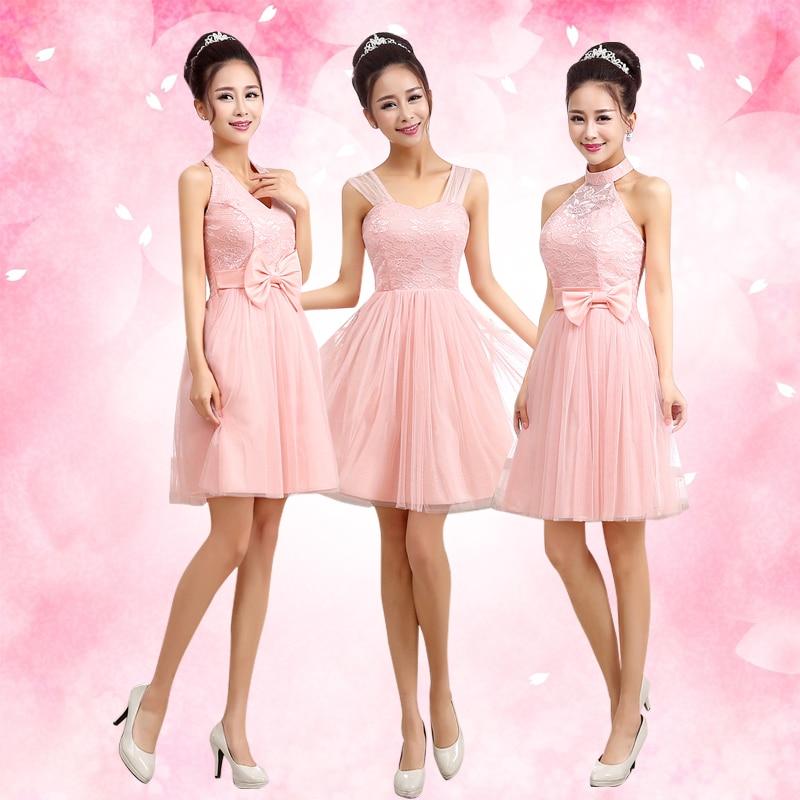 Popular Blush Rose Bridesmaid Dresses-Buy Cheap Blush Rose ...