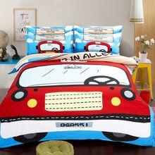 Бесплатная доставка Детский Комплект постельного белья с рисунком
