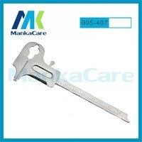 MKOI5407 Caliper For Metal Dental Instruments/Round caliper tips/Jewelary tools/Laboratory Measure Calipers/Wax Dental Lab Rule