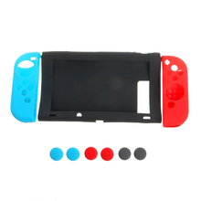 New 11 in 1 Anti-Slip Silicone Cover Case Set for Nintendo Switch Joy-Con Controller-Y1QA