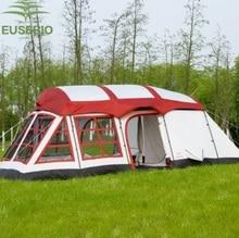 8 10 12 человек огромный двойной Слои открытый Семья две спальни один Гостиная дом Форма команды туристическая палатка Innice милосердия палатка