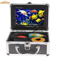 7*Color 30M 1000TVL HD CAM Professional Fish Finder Underwater Video Camera System LCD Fishing Camera Kit Fish Finder Monitor