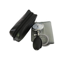 Adult Blood Pressure Monitor  Cuff Arm Aneroid Sphygmomanometer Gray , with Gauge.(Adult ,Large adult)
