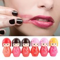 2016 Cute Cartoon Lip Gloss Makeup Long Lasting Bright Lip Pen Lipstick Lip Rouge
