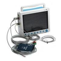 Promotion! CMS8000 ICU Patient Monitor NIBP,SPO2,PR,ECG,Resp,Temp,3y Warranty,CE