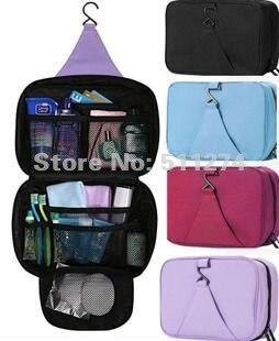 Free shipping waterproof big capacity toilet kit   travelling wash bag   3c83da7300681