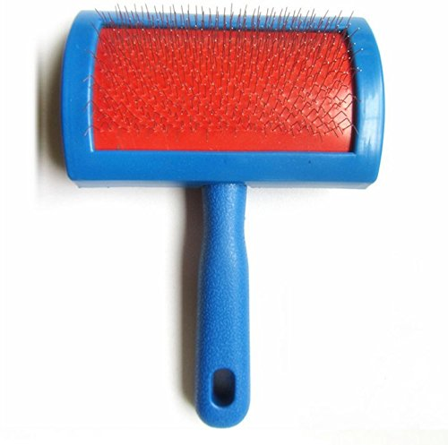 Sheepskin Rug Brush And Cleaner Pet Slicker Brush Fine