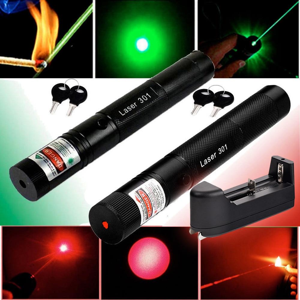 Military 532nm 50mw 303 Green Laser Pointer Lazer Pen