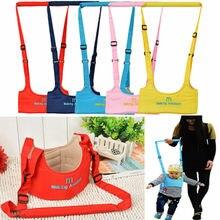 Детские ремни безопасности для прогулок поводки ремень для поддержки помощи помощник ремень безопасности Walk Assistant младенческой переноски подарок для ребенка