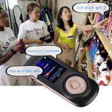 Real Time Interactive Instant Voice Translation Support 52 Languages No Noise