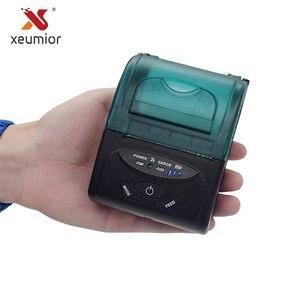 Xeumior 58 мм Мини SDK Портативный беспроводной Bluetooth термальный принтер Android Мобильный Bluetooth чековый принтер для супермаркета