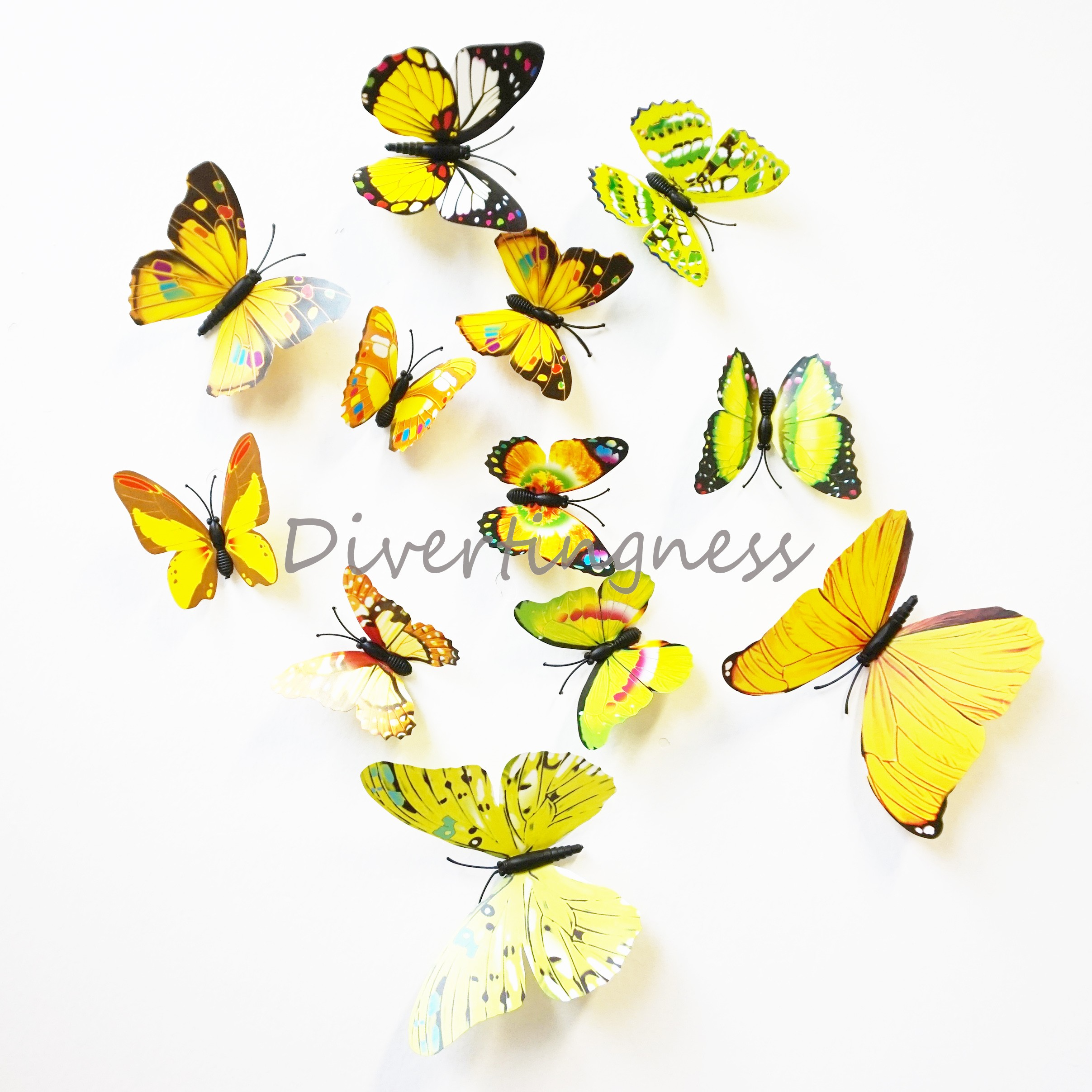 Best 3d Butterfly Wall Art Contemporary - The Wall Art Decorations ...