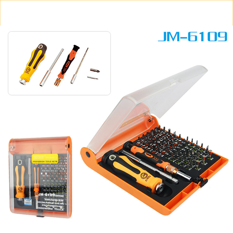 JAKEMY 72 in 1 Screwdriver Set Magnetic Adjustable Laptop Computer Electrical Home Furniture Auto Car Mechanic Repair Tools Kit jakemy 73in1 screwdriver set 180adjustable magnetic ratchet laptop computer household auto car mechanic repair tool kit jm 6113
