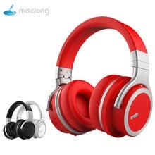 Meidong MDE7pro Active шум отмена Bluetooth наушники за ухо беспроводной гарнитура с микрофоном для телефона 30 h playtime