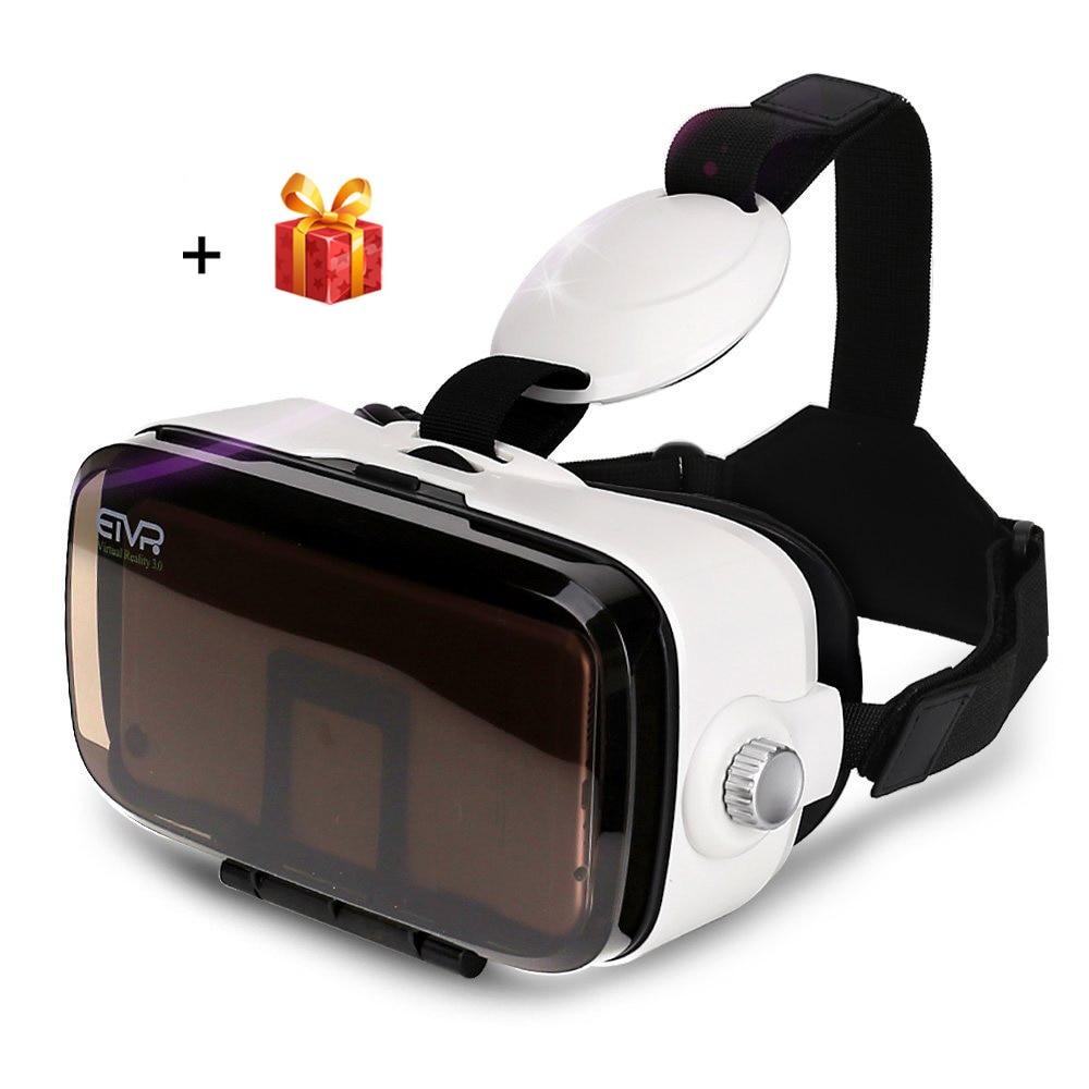 Etvr Z4 мини 3D виртуальной реальности очки погружения картона Daydream VR Очки шлем для 4.7-6.2 дюймов смартфон с геймпад