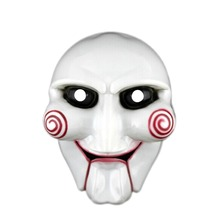 Saw Non-Woven Fabrics Mask Scary Halloween Party Decorations