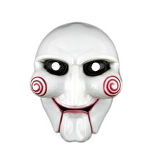 Halloween Decorations Masks Creepy Saw Latex Halloween gift full mask Scary prop unisex party cosplay supplies Halloween party(China)