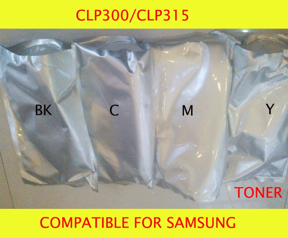 Fast Delivery Compatible for samsung CLP300 CLP315 Chemical Color font b Toner b font Powder Free