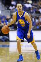 Custom Canvas Painting Stephen Curry Poster Warriors Wallpaper Basketball Star Wall Stickers  Mural Home Decoration #P1206#