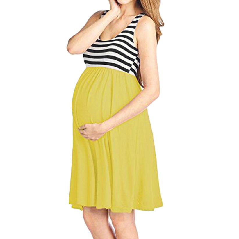 79f1641997b Detail Feedback Questions about Maternity Clothes Women Sleeveless Dress  For Pregnant Beach Dresses Patchwork Pregnancy Nursing Breastfeeding Dress  Clothing ...