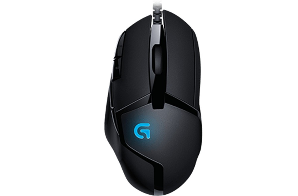 Logitech G402 gaming Mouse FUSION engine Fast DPI switching for FPS game PUBG Overwatch CSGO image