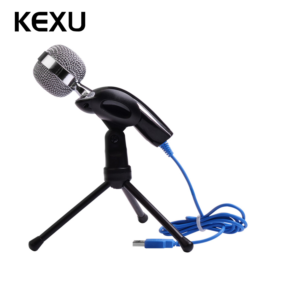 Consumer Electronics Live Equipment Capable 2017 New Professional Sound Usb Microphone For Video Recording Karaoke Radio Pc Laptop Chatting Audio Recording Condenser Mic