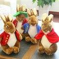 Los Amantes Del Conejo de dibujos animados Juguetes de Peluche 40/55 cm rojo/azul sombrero muñeca muñeca conejo de peluche de felpa juguetes de los niños regalo de cumpleaños del bebé