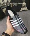 Los hombres de los holgazanes de los zapatos de la marca de lujo Pisos de calzado Zapatos de Boda tachonado de Cuero masculino Zapatos de Lona para Los Hombres holgazanes Hombres Plana Oxfords