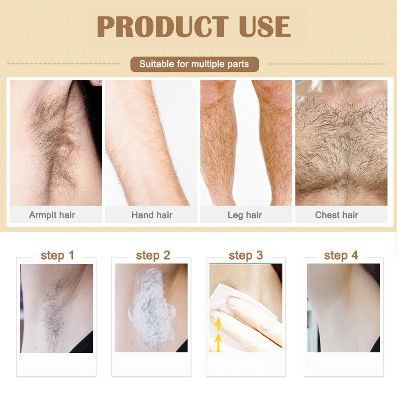 Dropshipping Mild Hair Removal Cream Used On Legs Body Part For Men Women Hair Remover Lotion Smj Hair Removal Cream
