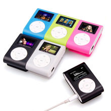 2018 usb tela lcd magro mini clipe mp3 music player suporte 32 gb micro sd tf cartão caixa mp3 player electronica # ma24 dropshipping(China)