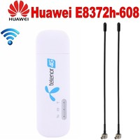 Huawei E8372h 608 with 5dbi TS 9 Antena Wingle LTE Universal 4G USB MODEM WIFI Mobile