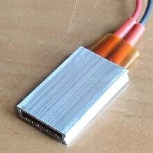 PTC нагревательный элемент 50 Вт AC DC 48 В постоянная температура керамическая термостатическая пластина 35*21*5 мм