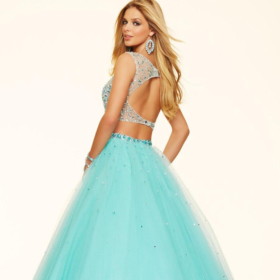 New Design O Neck Keyhole Back Elegant Long Formal Ball Gown ...