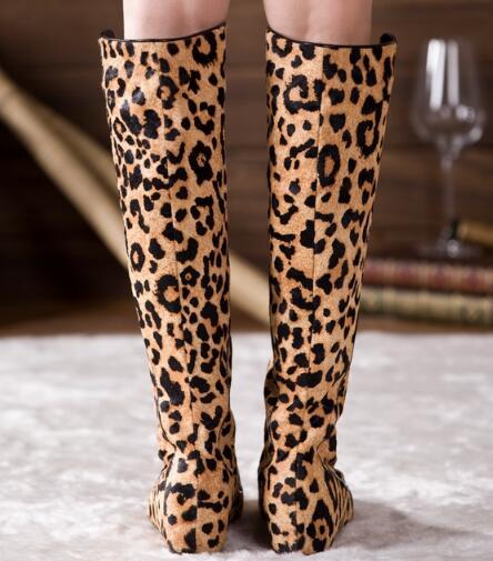 Sestito Woman Leopard Print Zipper