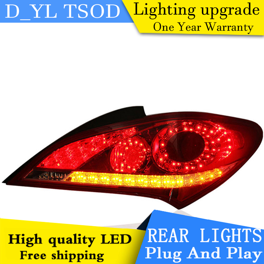 Car Styling LED Tail Lamp for Hyundai Rohens Coupe