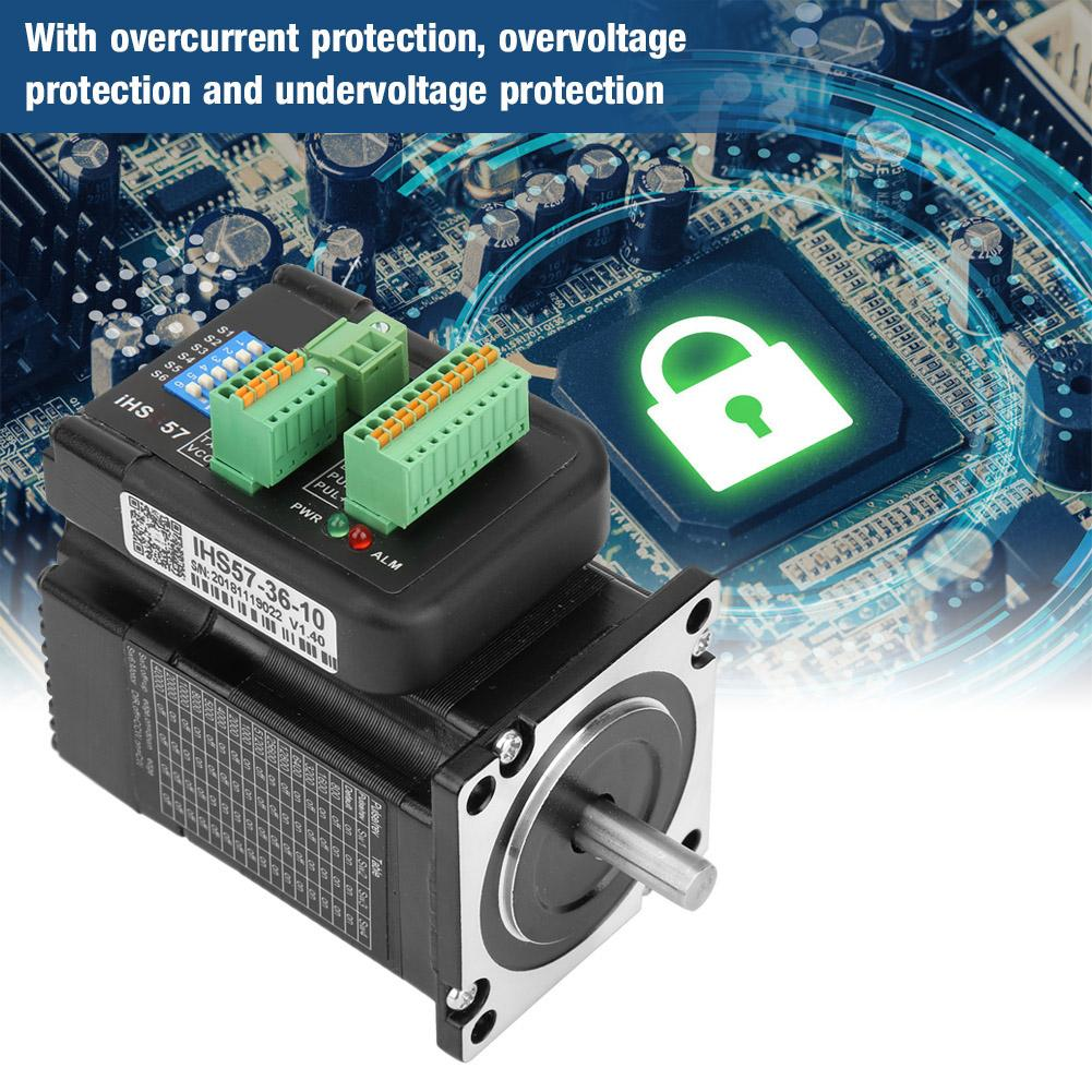 36V 4A Integrated Step Stepping Motor Digital Open Loop Stepping Motor for Automation Equipment iHS57-36-1036V 4A Integrated Step Stepping Motor Digital Open Loop Stepping Motor for Automation Equipment iHS57-36-10