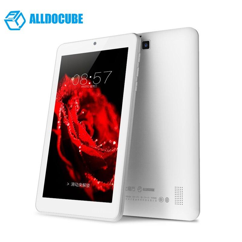 цена на ALLDOCUBE C1 Tablets PC 7 inch 1024*600 IPS Android7.1 RK3126 Quad Core 1GB Ram 8GB Rom Bluetooth Dual Camera