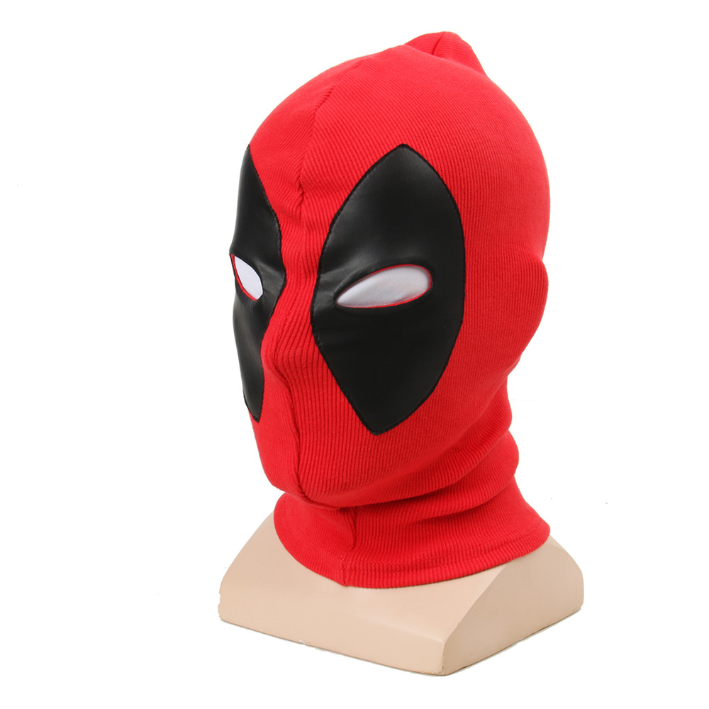 1pcs Deadpool Masks Superhero Balaclava Halloween Cosplay Costume X Men Hats Headgear Party Neck Hood Full Face Mask