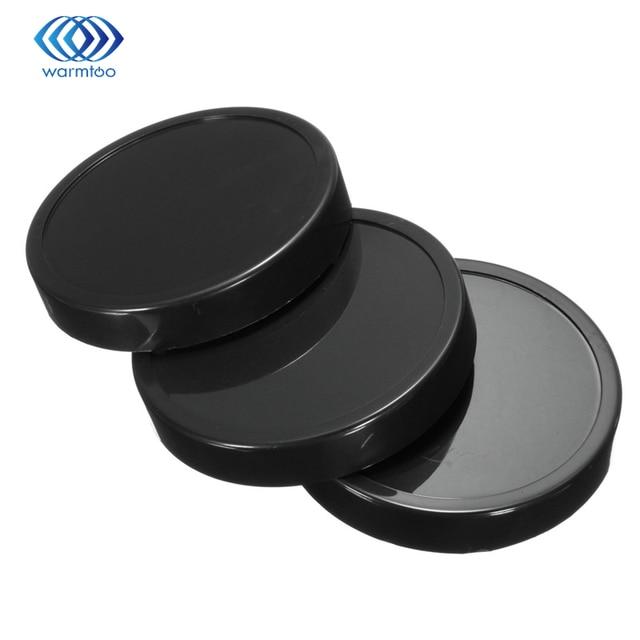 3 pcs Plástico Preto Tampas Do Copo Liquidificador Peças de Reposição Para 250 W Para A Magia Para Bala Espremedor de Qualidade Durável