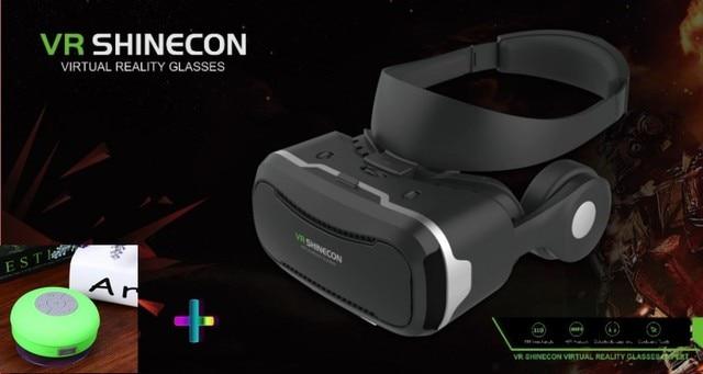2017 Последним SHINECON 4.0 Pro Виртуальной Реальности 3D VR VR очки с Гарнитурой VR Очки Google Картон Фильм Игра Рождество подарок