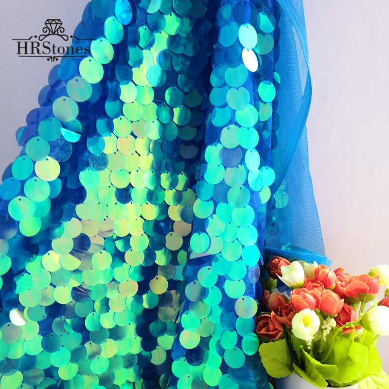 Синяя симфония фон ткань украшение комната девушка сердце рыбья чешуя блестки живой якорь сеть красный Ins тканевый фон для фото