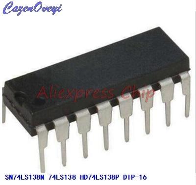 1pcs/lot SN74LS138N 74LS138 Integrated Digital Logic IC Replacement HD74LS138P New Original DIP-16 In Stock