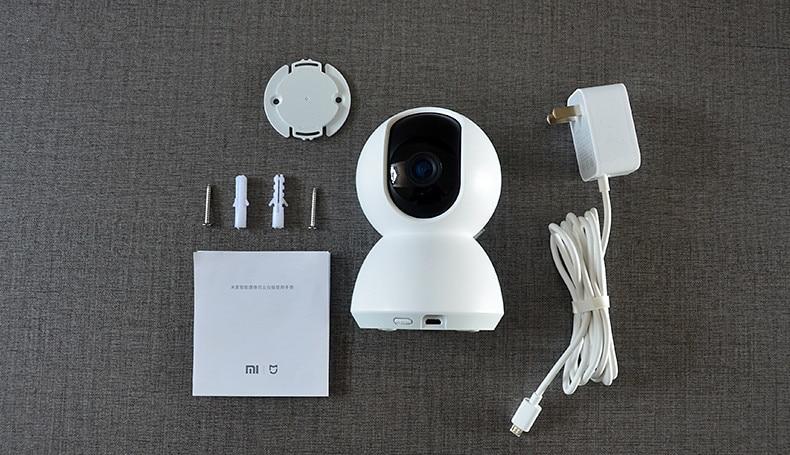 Image 3 - Xiaomi mijia sem fio 360 ângulo panorâmico câmera ip pt com  cabeça berço hd 1080 p wifi em dois sentidos de áudio câmera rede  segurança em casaCâmeras de vigilância