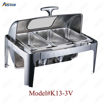 K13-1 13L stainless steel commercial chafing dish/buffet for hotel, banquets and restaurant 2