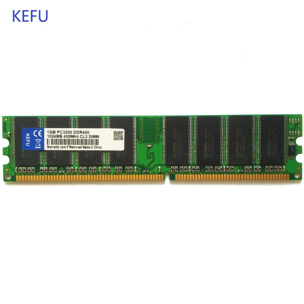 New 1pcs 1GB PC3200 DDR400 400MHz 333 266 Desktop DIMM Memory Ram 184-pin