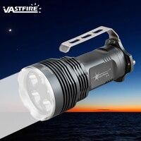 Venda por atacado brilhante 2500 lúmen 5x xm-l t6 led lanterna tocha lâmpada de mão luz à prova dwaterproof água