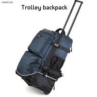 CARRYLOVE High quality travel Large capacity trolley luggage bag with wheels multifunction Luggage carry on boarding