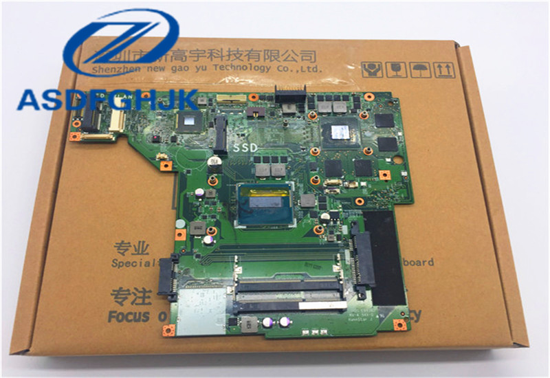 FOR MSI GE70 MS 1759 Laptop motherboard MS 17591 VER 1 0 i7 4710HQ GTX860M 100