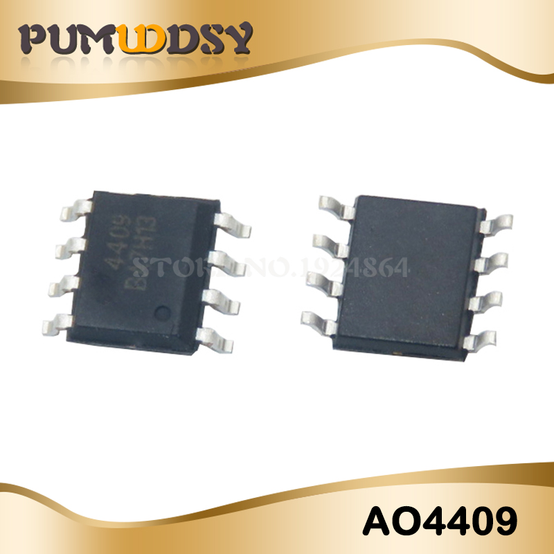 10pcs <font><b>AO4409</b></font> 4409 MOSFET SOP-8 new original free shipping image